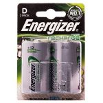 Аккумулятор D Energizer R20 Power Plus (2-BL) Ni-MH 2500 mAh