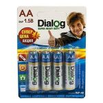 Батарейка AA Dialog R6P Super Heavy Duty (упаковка 4 шт.)