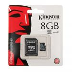 Карта памяти MicroSDHC 8Gb CL4 Kingston в блистере без адаптера